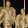 Human statue 68