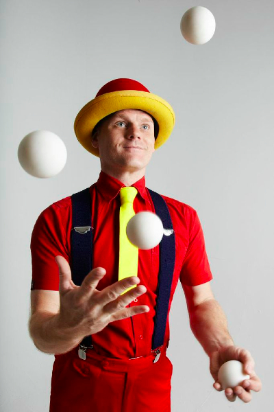 the juggler Juggler definition, a person who performs juggling feats, as with balls or knives see more.