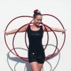 Hula Hoop performer 108